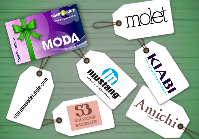 Tarjeta Promo regalo Tarjeta Click&Gift TIENDAS DE MODA