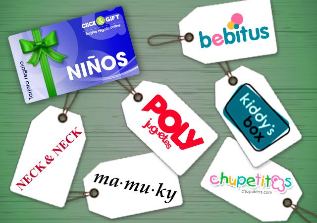 Tarjeta Promo regalo Click&Gift NIÑOS