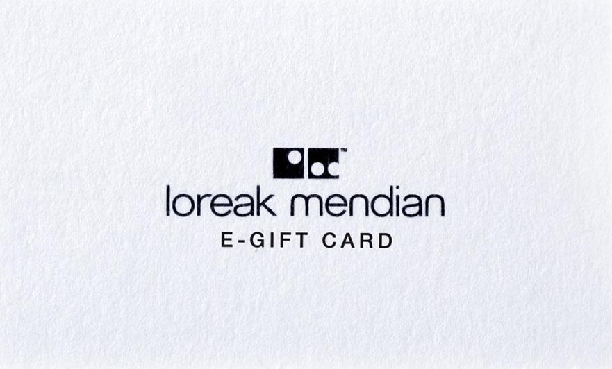 Tarjeta Promo regalo Loreak Mendian
