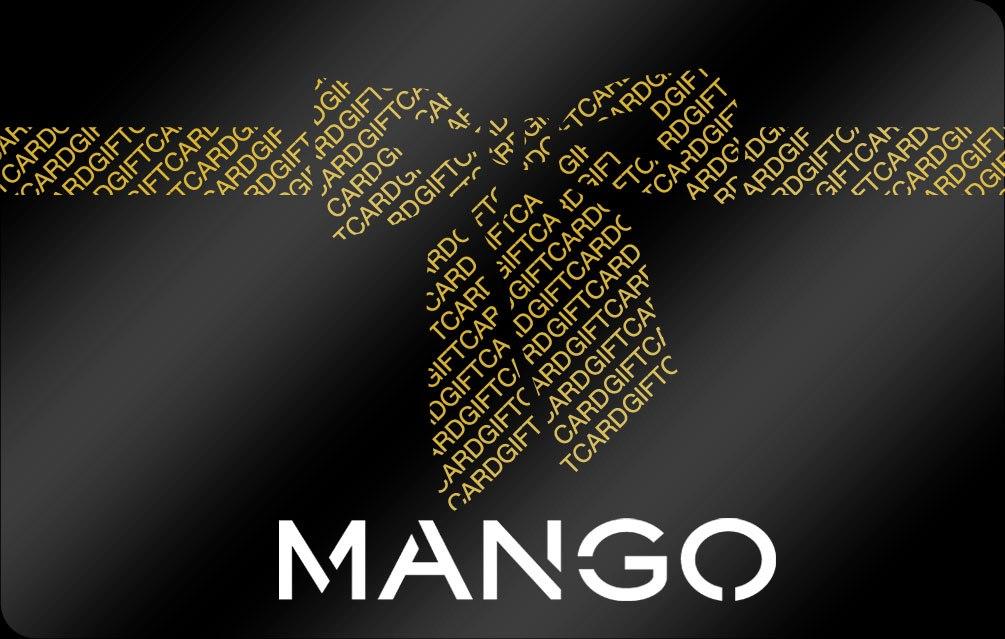 Tarjeta Promo regalo Mango