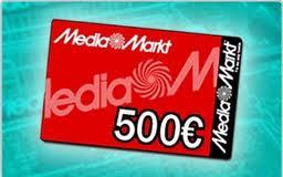 Tarjeta Promo regalo Media Markt